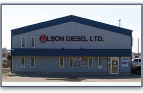 Olson Diesel Ltd. Building